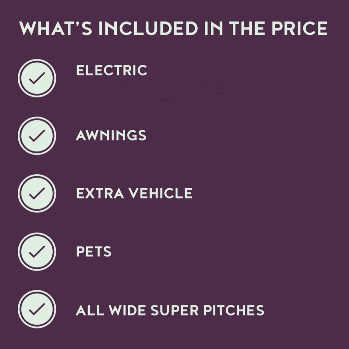 Included in Our Pitch Fees